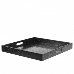 Gator Black Square Tray