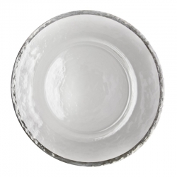 Alpine Silver Charger Plate