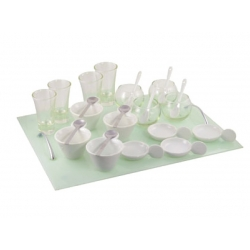 Appetizer Set 25 Pc Rec Glass