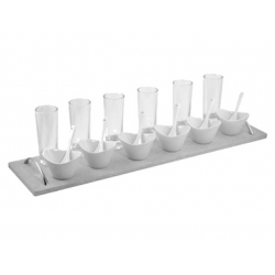 Appetizer Set 19 Pc Rec Sandstone
